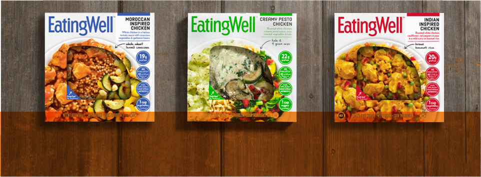 Eating well magazines